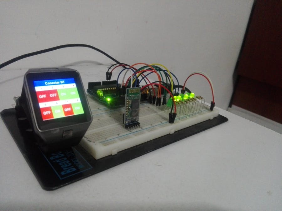 Smartwatch - Arduino LED Control