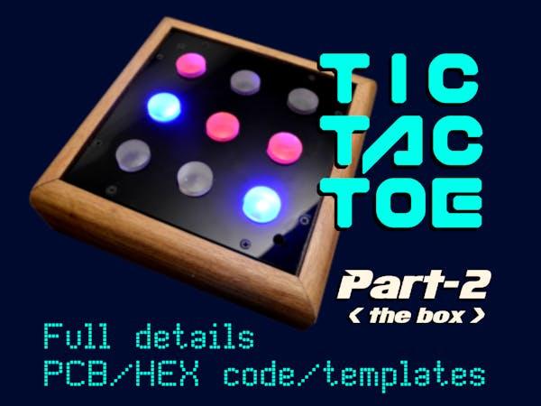 Tic-Tac-Toe PART 2 (PIC16F627A)