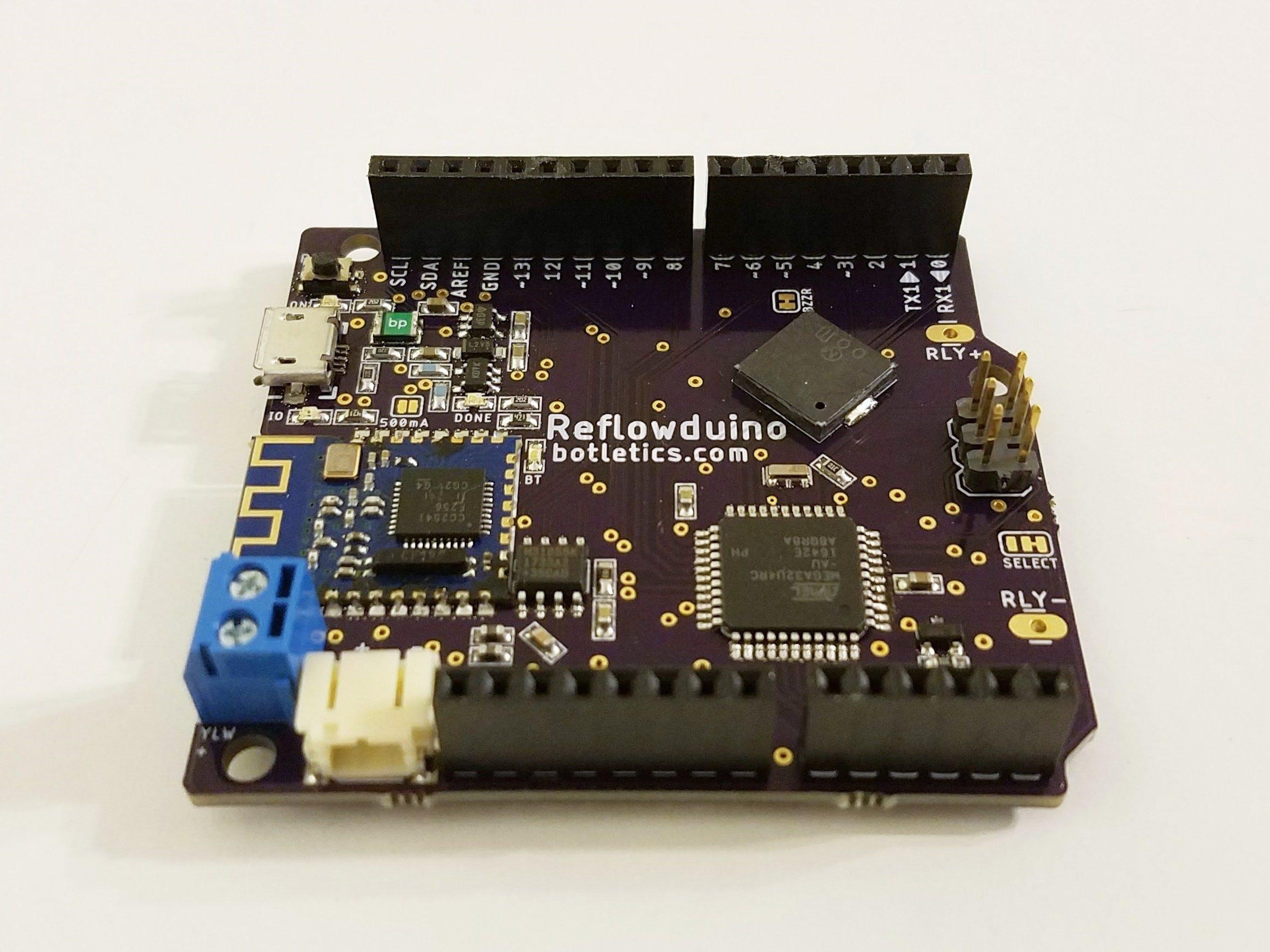 DIY Reflow Oven with Reflowduino
