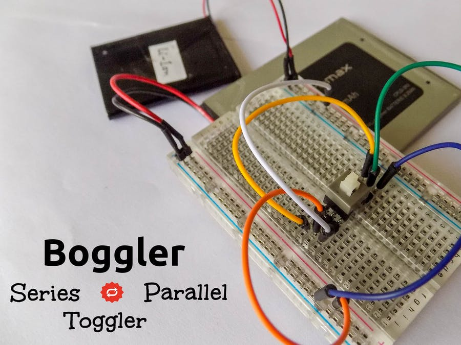 Battery Connection Toggler(Series ↔ Parallel) - Boggler