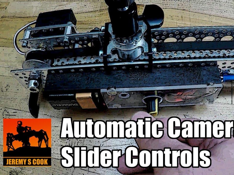 Camera Slider Control [Arduino Nano]