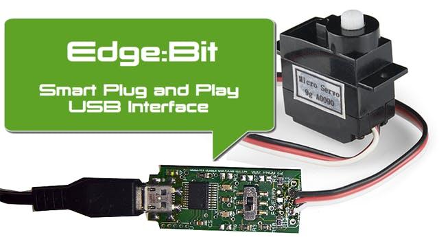 Edge:Bit connected as Servo pass-through