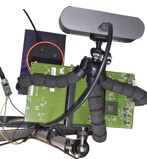 Walabot mounted on a USB