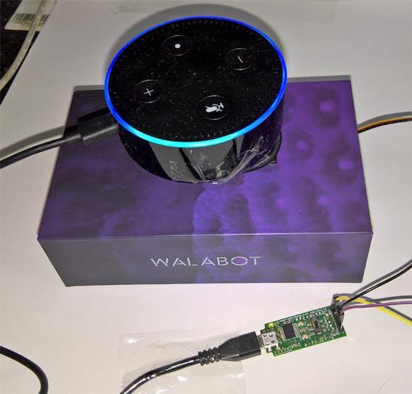 Alexa mounted on a Servo