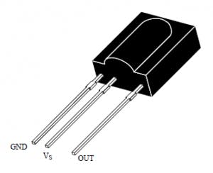 TSOP1738 Pin Out