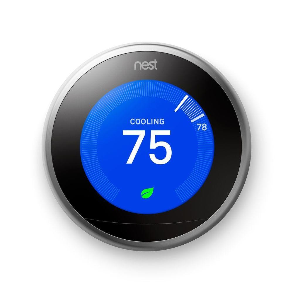 Metallics nest programmable thermostats t3007es 64 1000