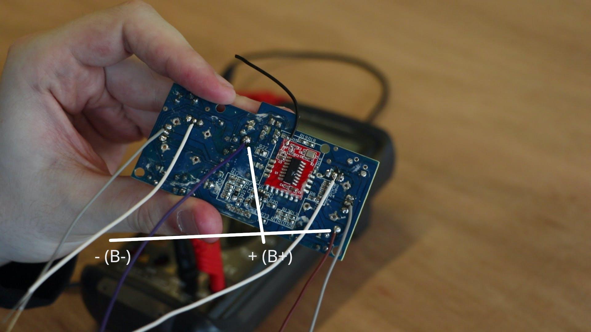 Prepared controller PCB