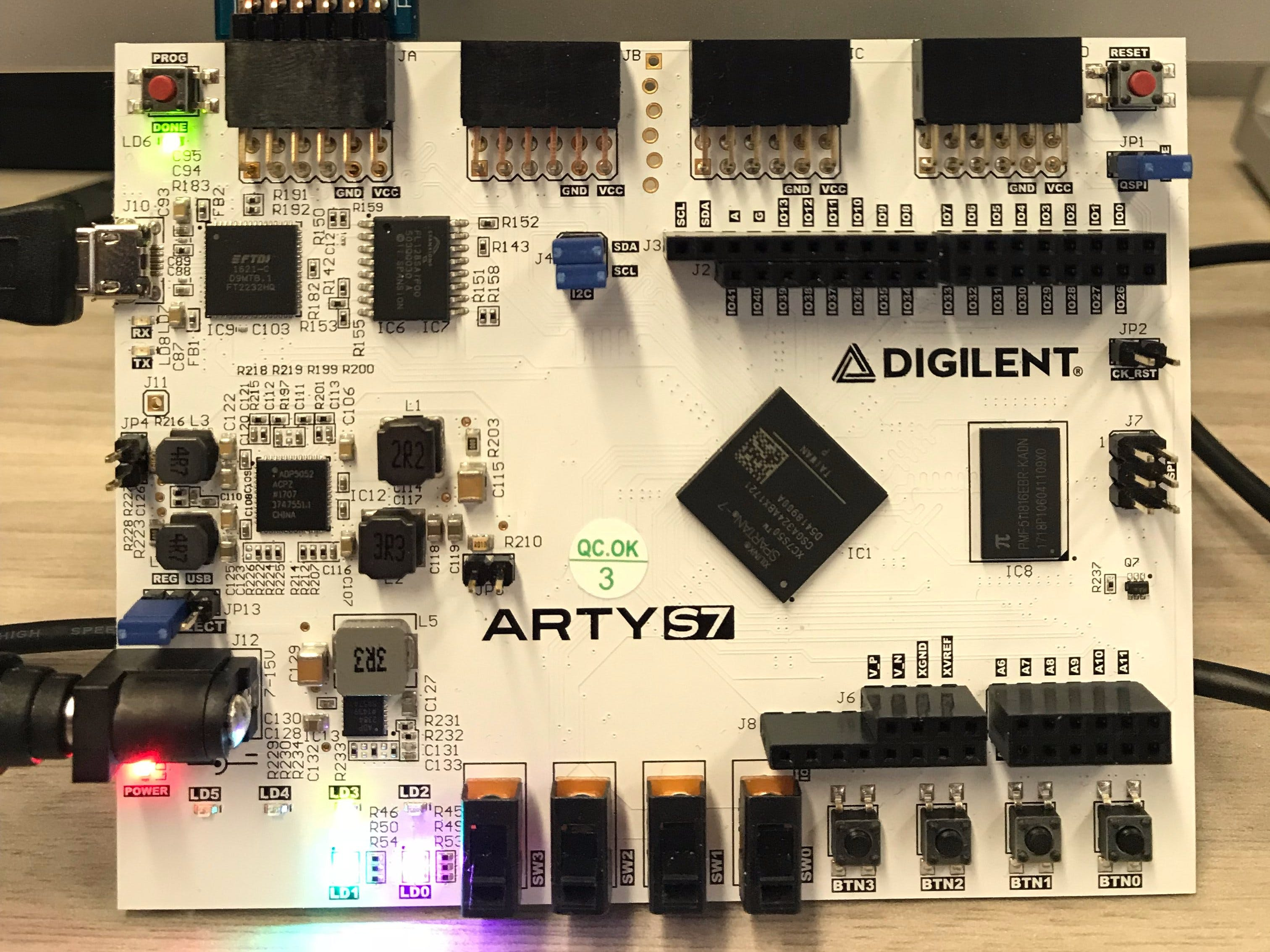 Wireless FPGA Debugger and System Monitor