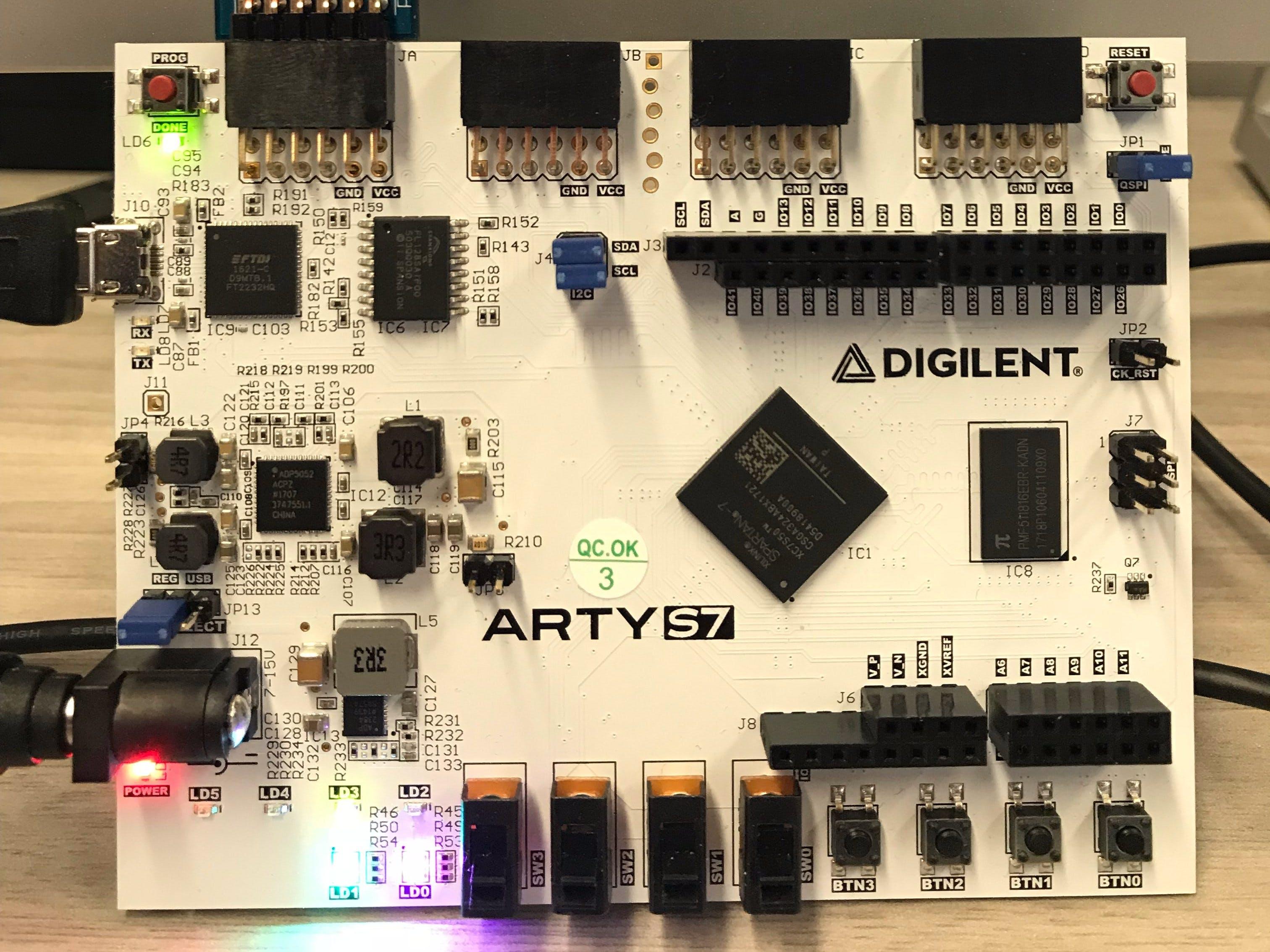Wireless FPGA Debugger and System Monitor