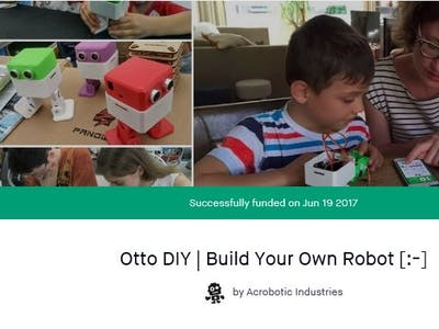 What Do I Build Next Finally, My OTTO_DIY Kit