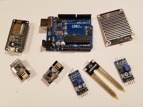 Water Sensors using MySensors Framework with oneM2M Platform