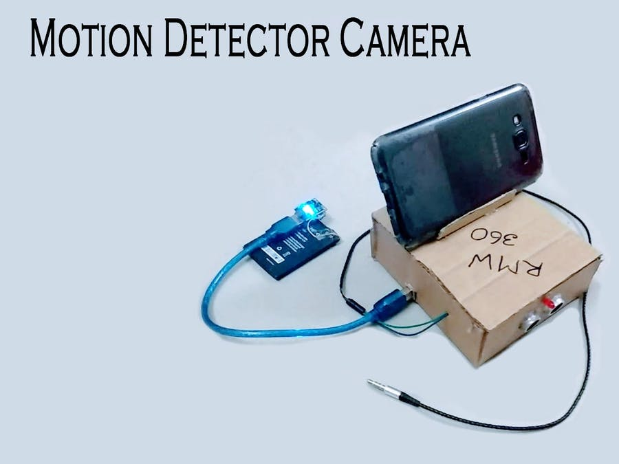 Android Motion Detector Camera with Arduino/MCU - Hackster io