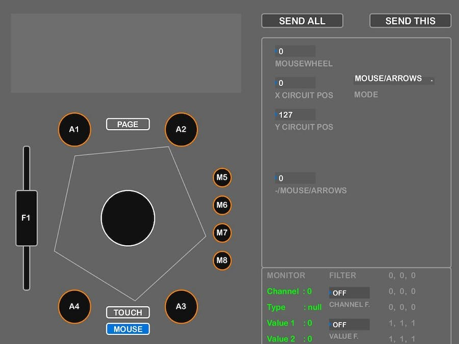 DART EDITOR - Universal editor for Arduino MIDI projects