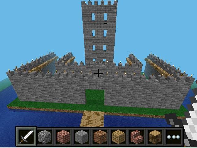 Minecraft Pi IoT Castle