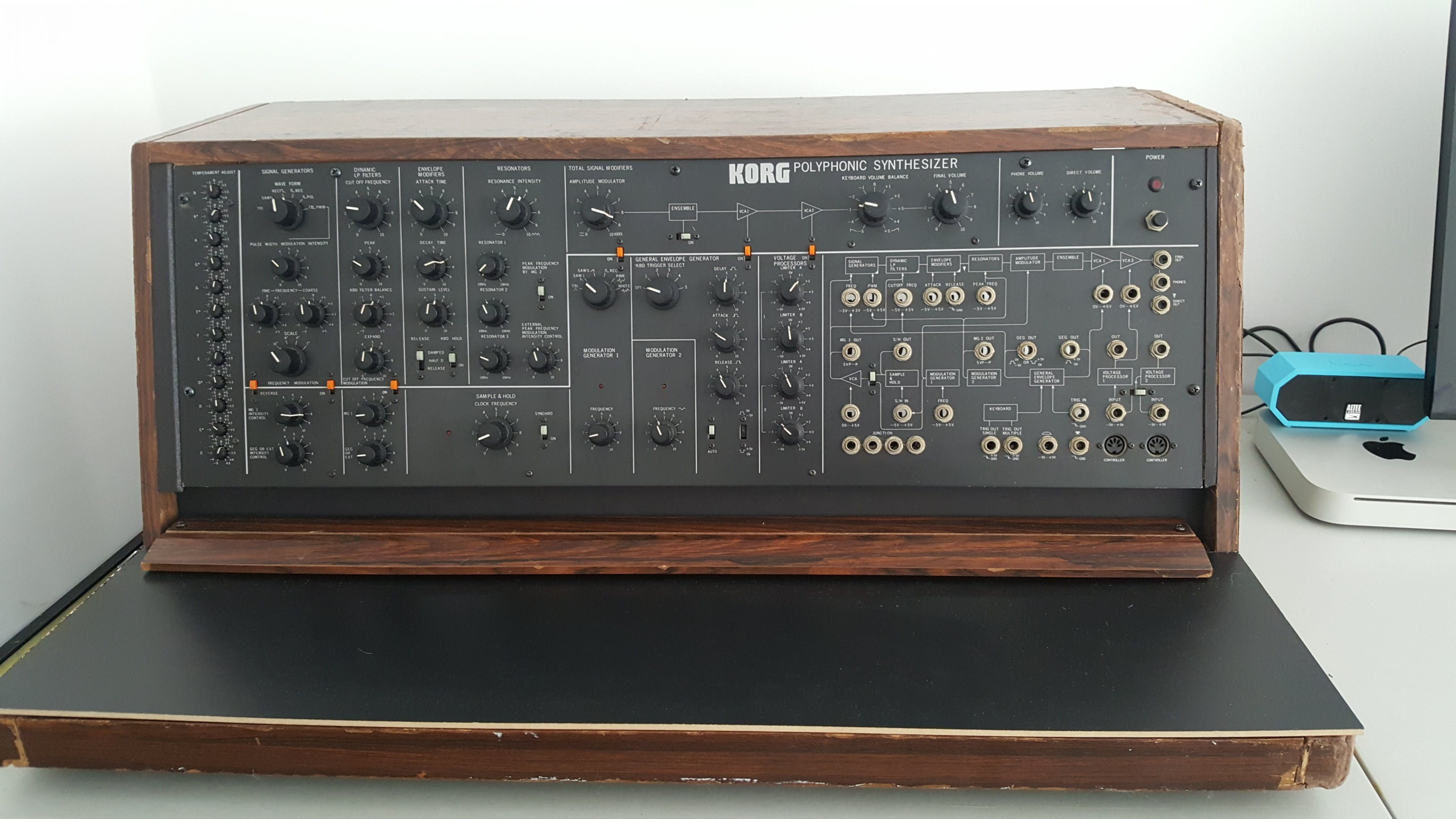 Massive MIDI Controller for Full Bucket FB3100 Synthesizer
