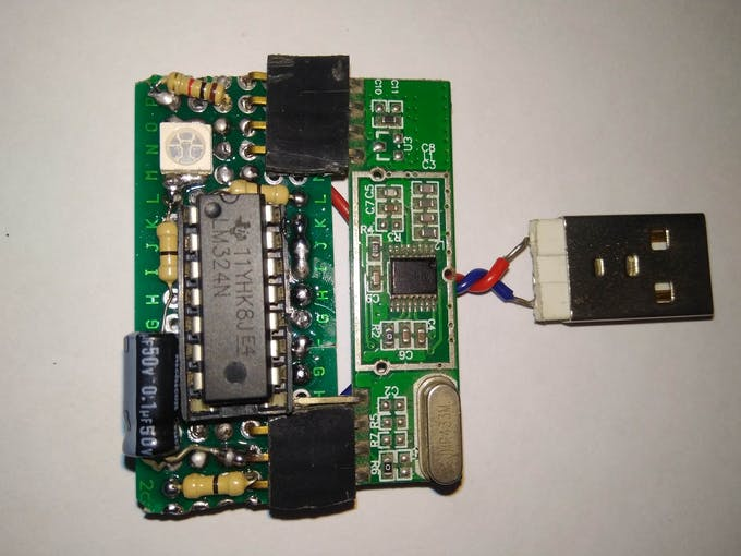 Receiver Module with USB power option