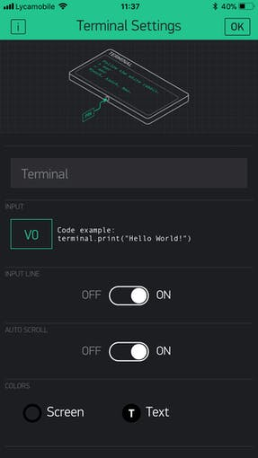 In the next window, select the virtual pin as V0 and click Ok