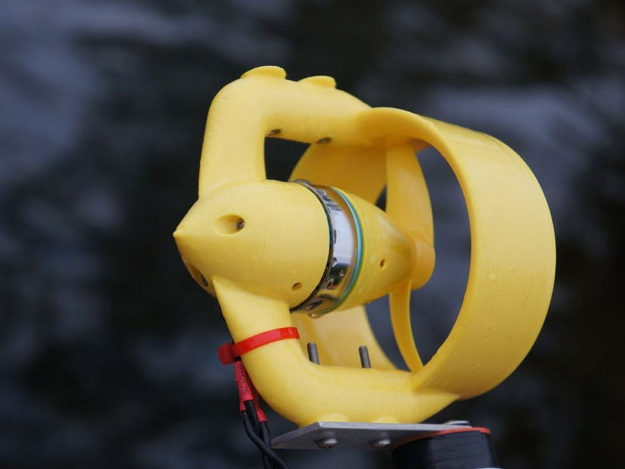 4,78 kg DIY ROV thruster for MATE competition