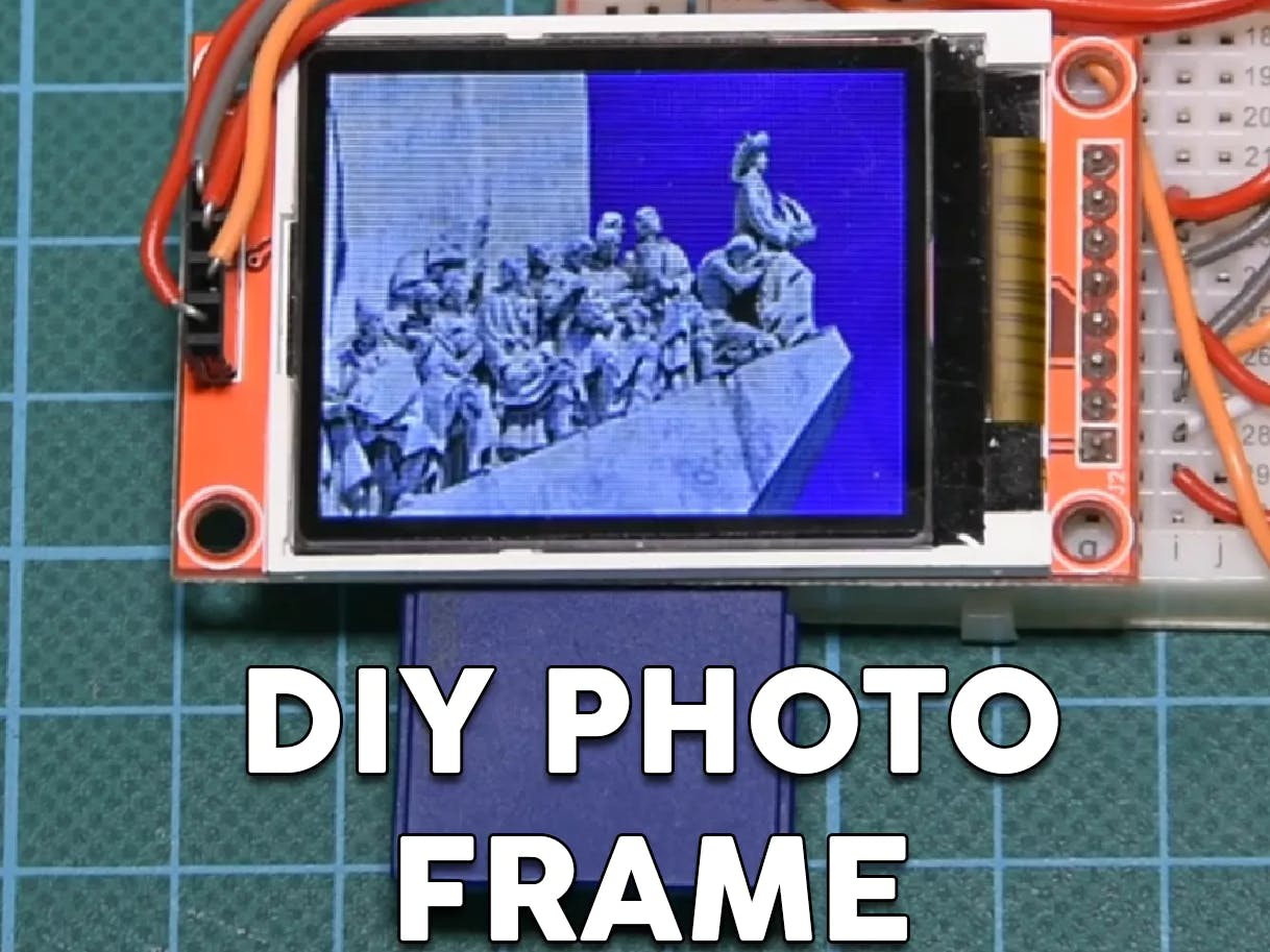 DIY Photo Frame With Arduino