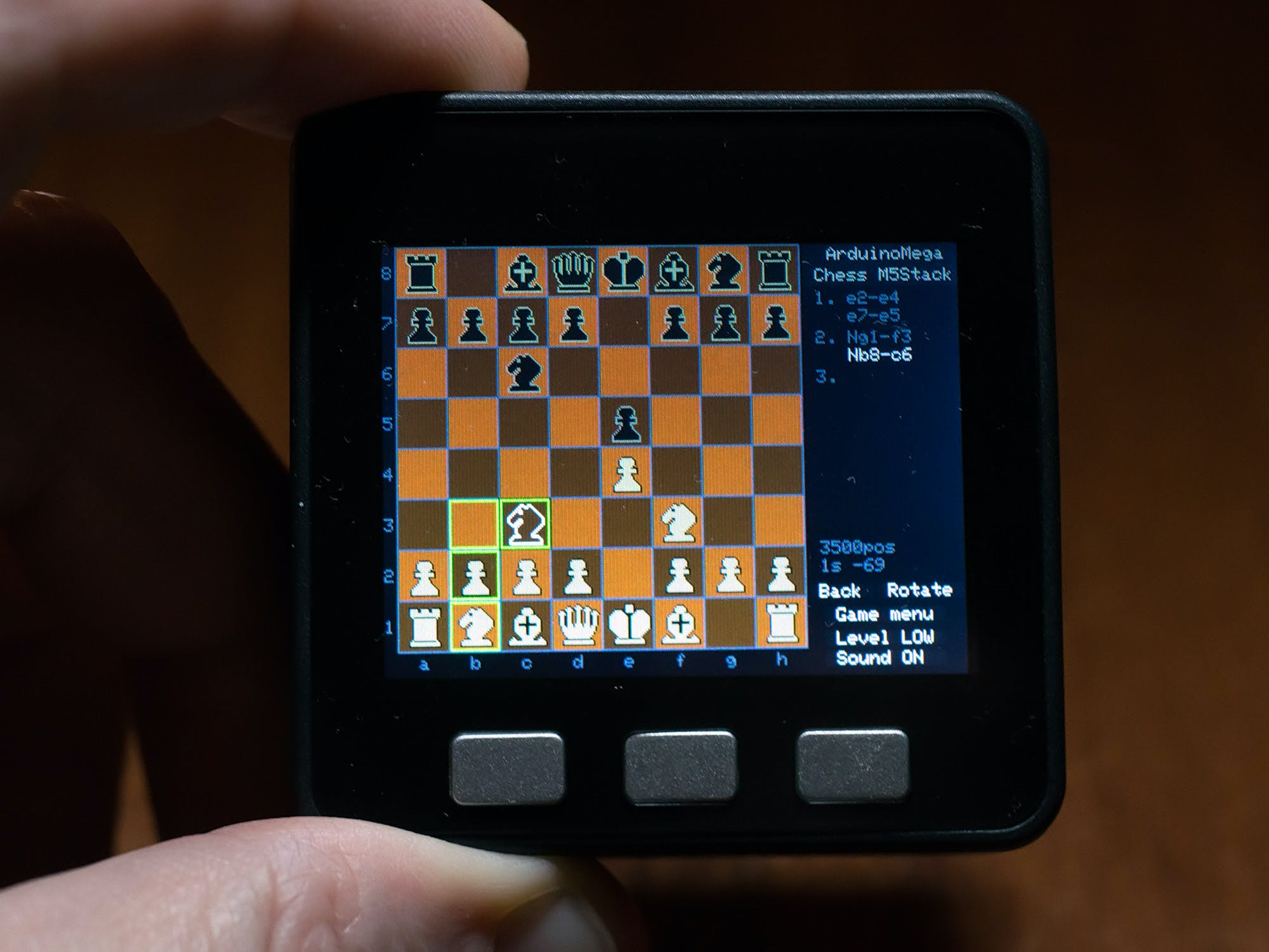 Arduino Mega Chess for M5Stack