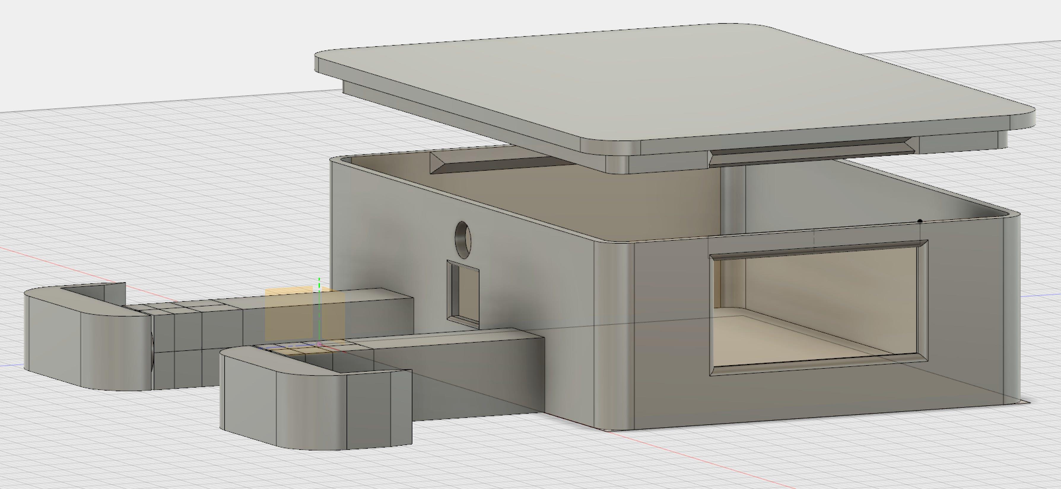 Full enclosure model
