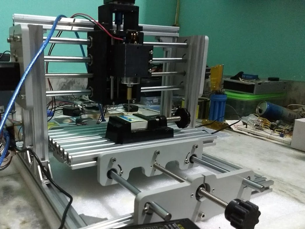 DIY 3-Axis CNC VMC