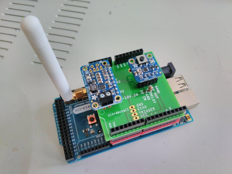 ultrasonic water level sensor