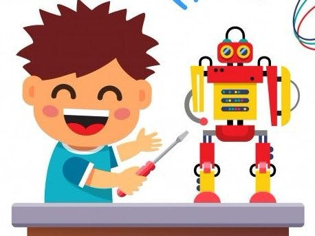 Play Pal - Intelligent Robo-pal for Kids(age 3-9)