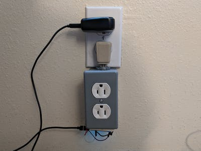IoT Power Plug Controlled by Alexa/Google Assistant