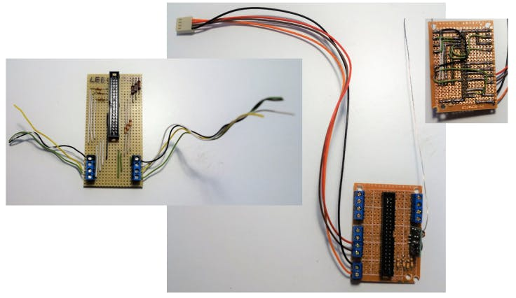 Old world: customize existing pcb's or build new ones