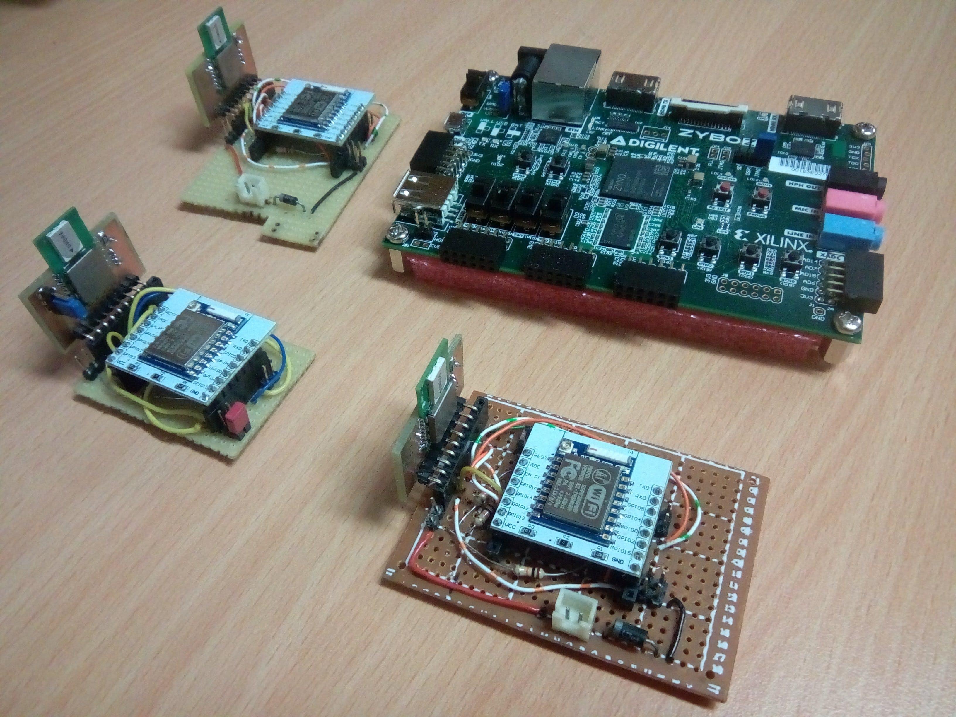 Localization Based on RF Modules Using FPGA