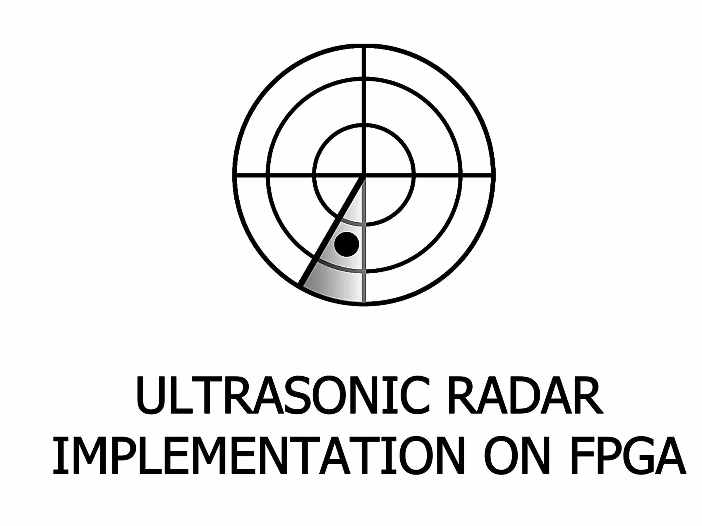 Ultrasonic Radar Implementation on FPGA