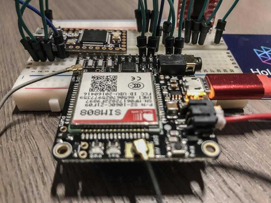 FONA GPS Tracker