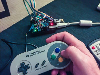 Wireless SNES with nRF24