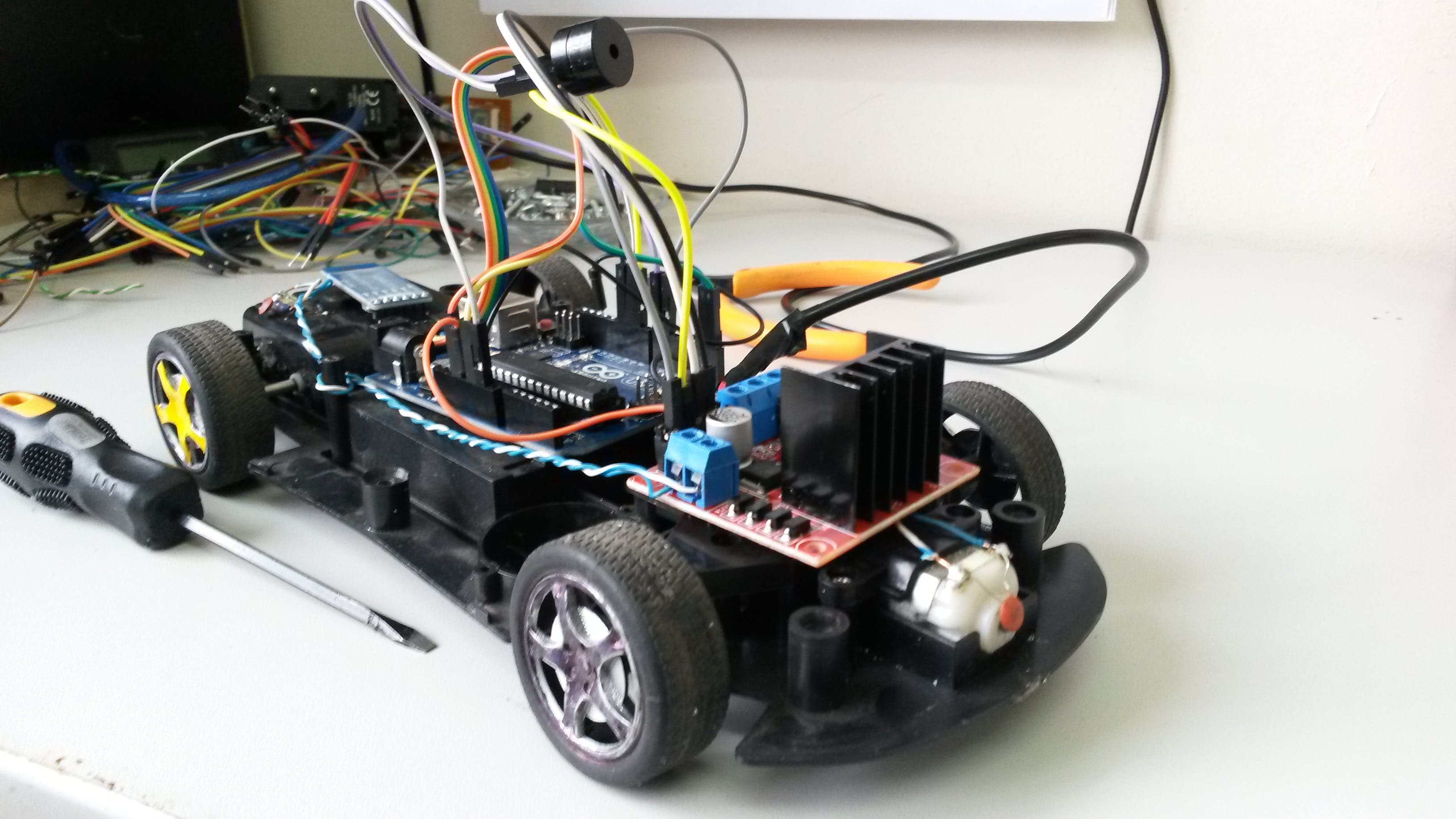 Arduino Bluetooth Car Control