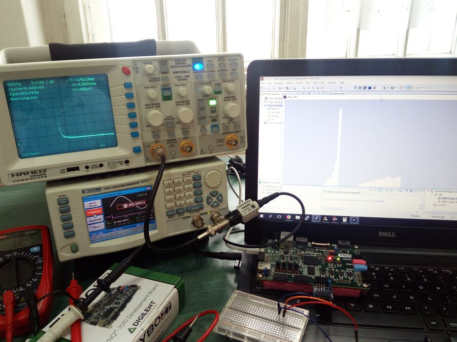 Spectrum Analyzer for Industrial Applications