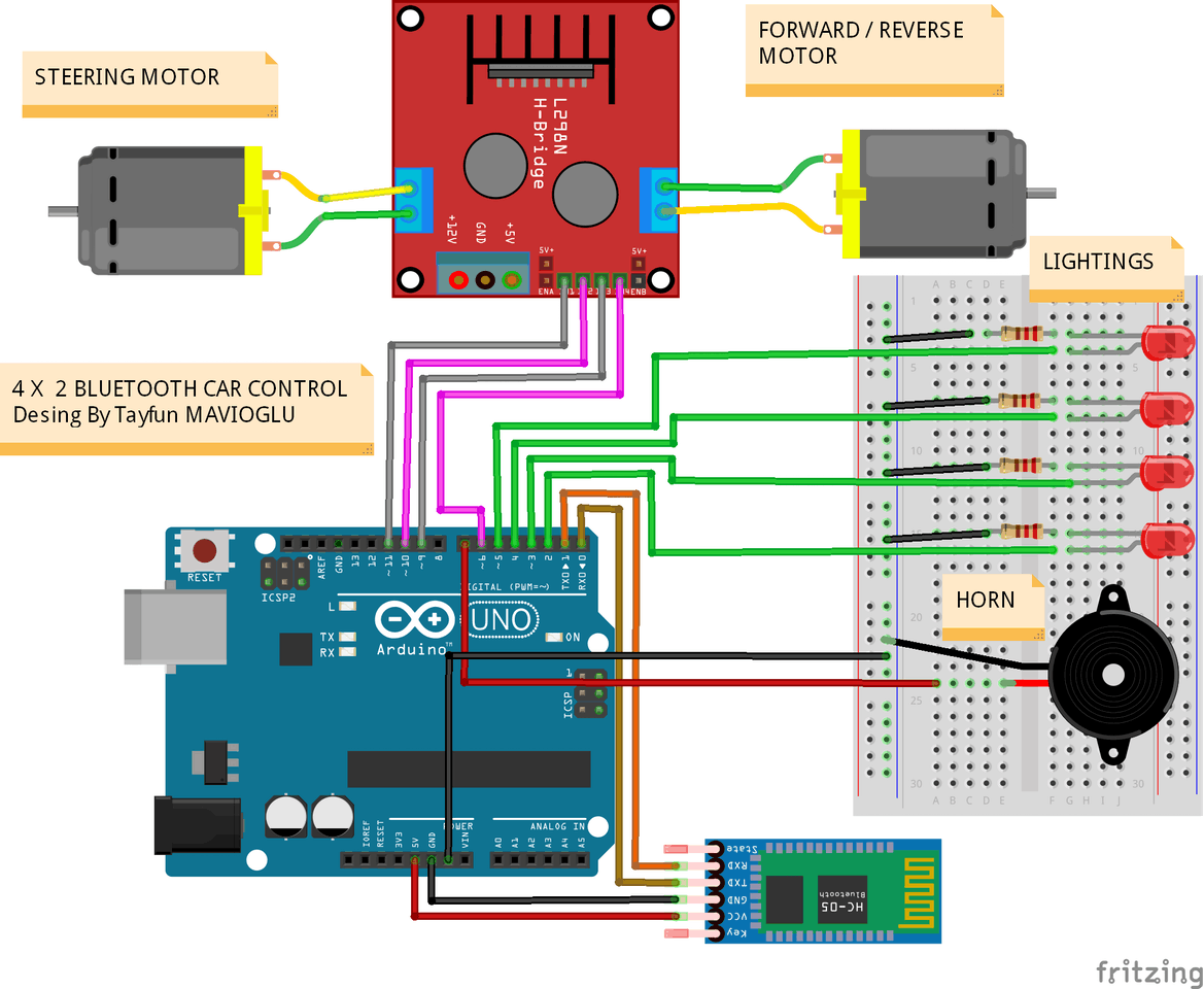 Arduino Bluetooth Car Control - Arduino Project Hub