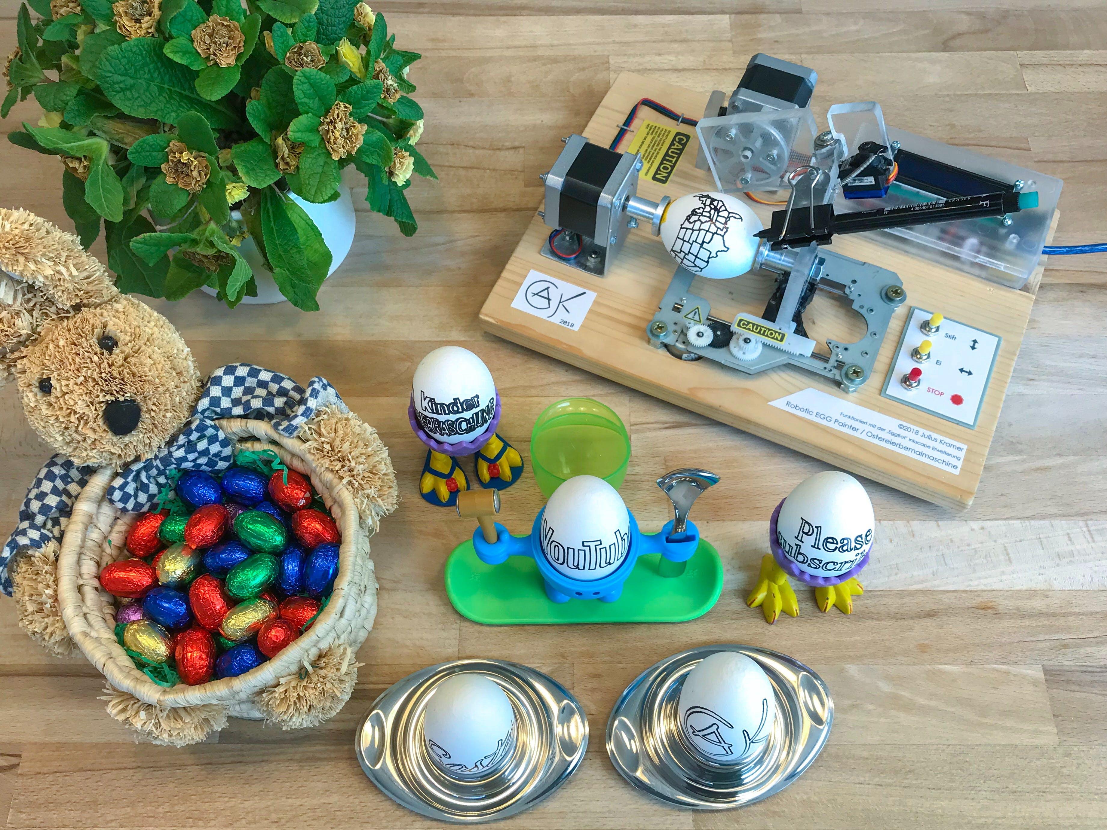 Robotic Easter Egg Painter