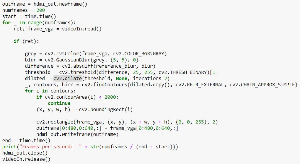 Algorithm in Jupyter Environment