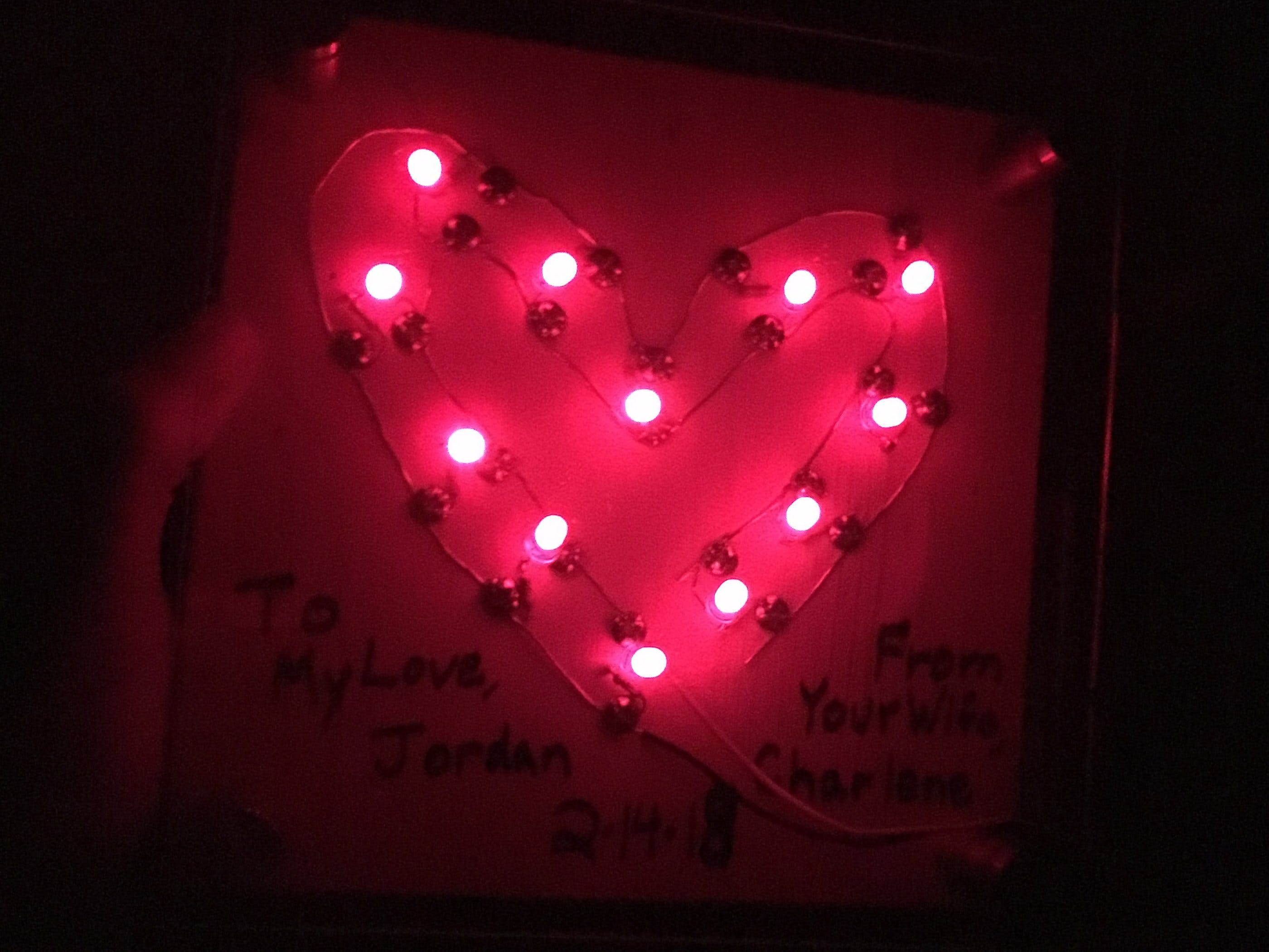 How to Make an LED Heart Display