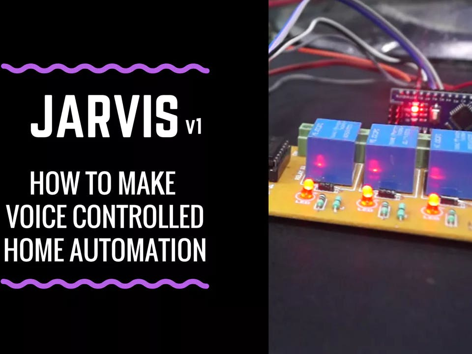 Arduino Tutorial: JARVIS v1 | How to make a Home Automation