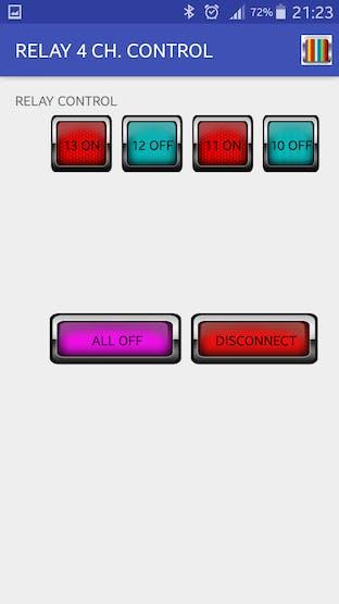 Arduino – Bluetooth 4 Channel Relay App - Hackster io
