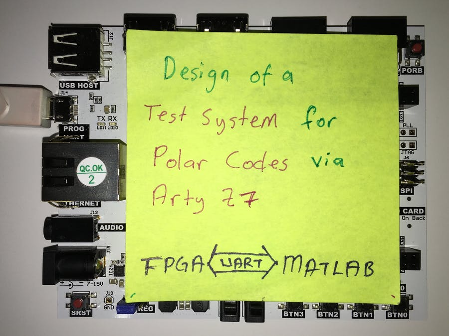 Design of a Test System for Polar Codes in FPGA - Hackster io