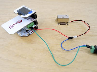 Using Onion RFID & NFC Expansion for Access Control