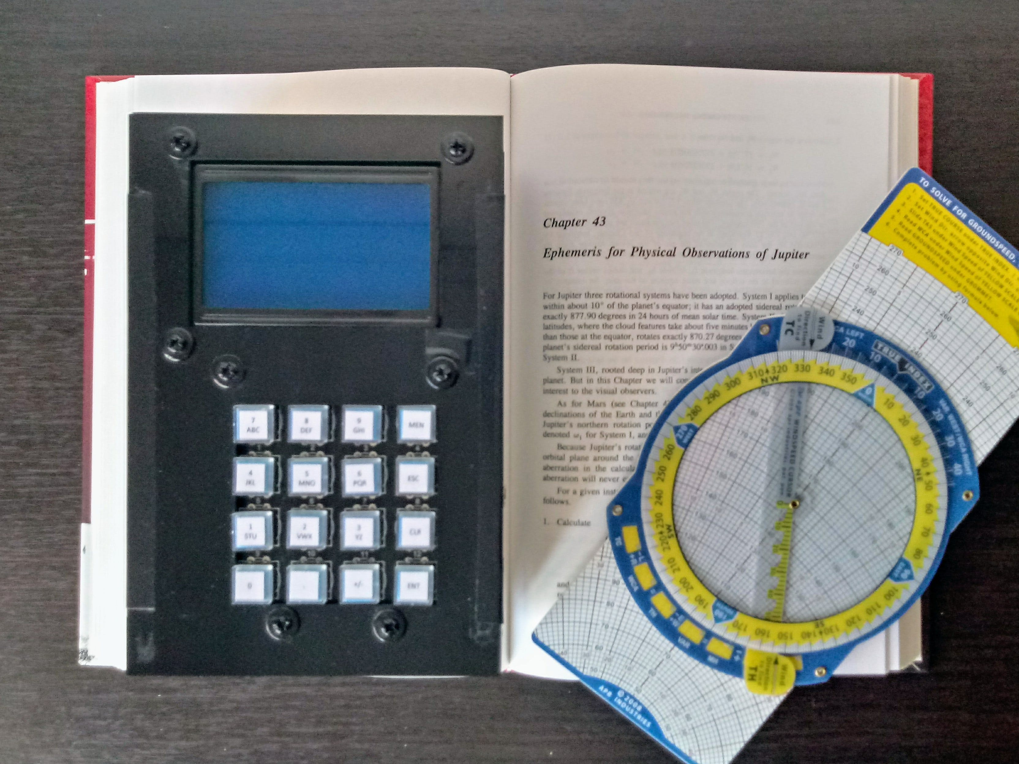 Astronomical and Flight Navigation Computer