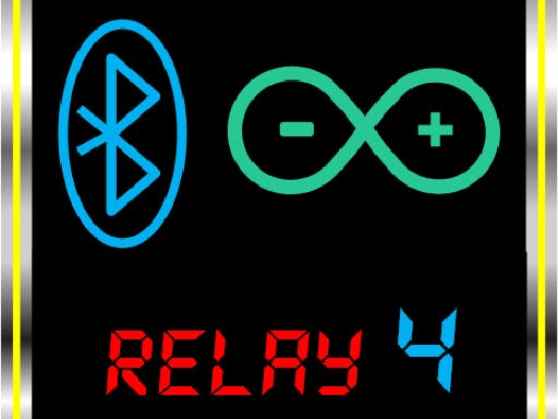 Arduino – Bluetooth 4 Channel Relay App