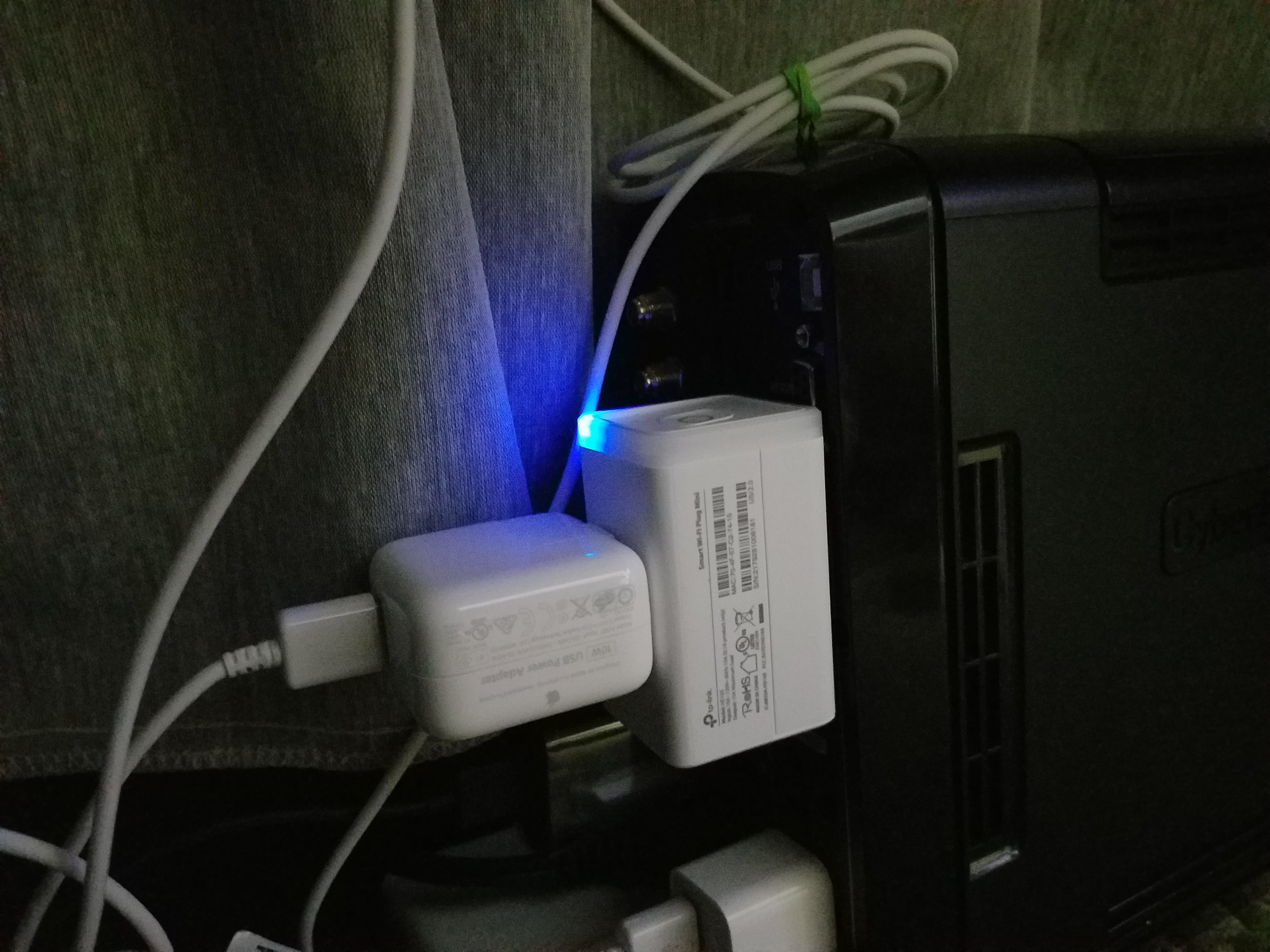 Raspberry Pi Plugged Directly Into TP-Link