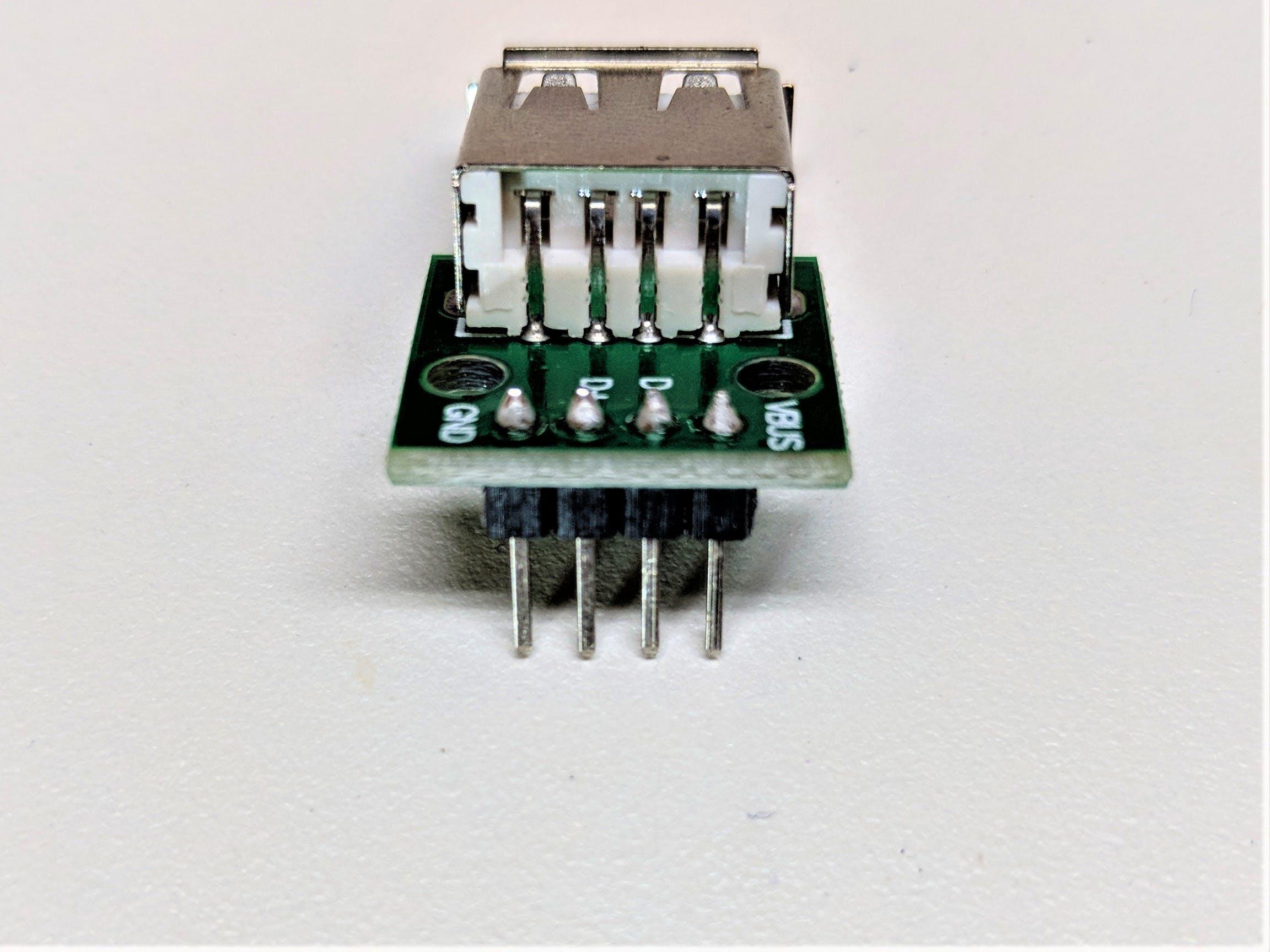 USB-A add on board