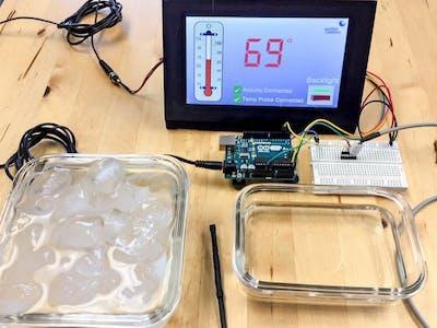 Matrix Orbital GTT TFT Thermometer Stage 1