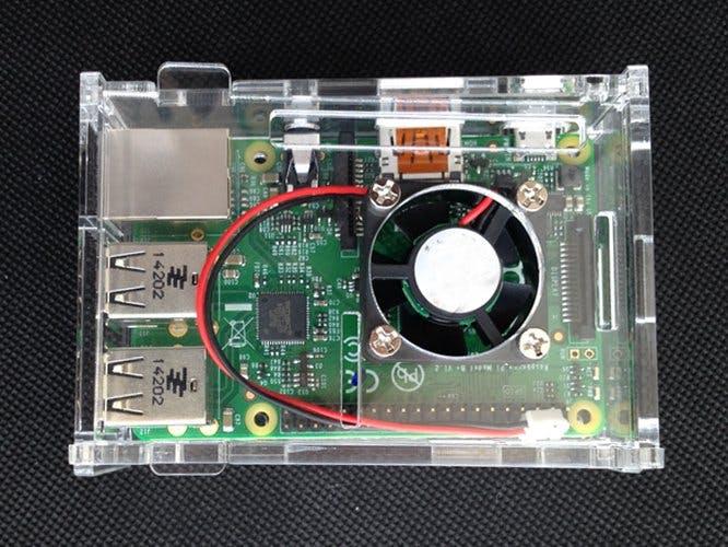 Raspberry Pi Fan Cooler